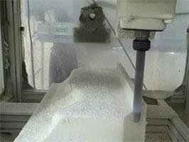 Usinagem e Injeção de espuma